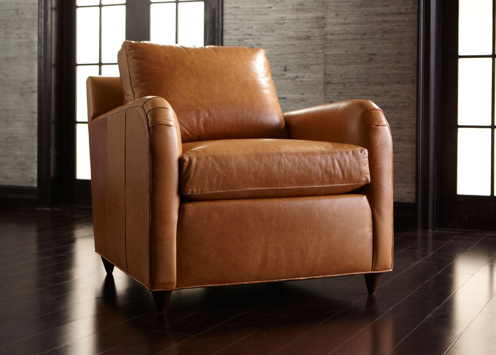 Captivating Greggy Leather Chair , , Alt · Ethan Allen ...
