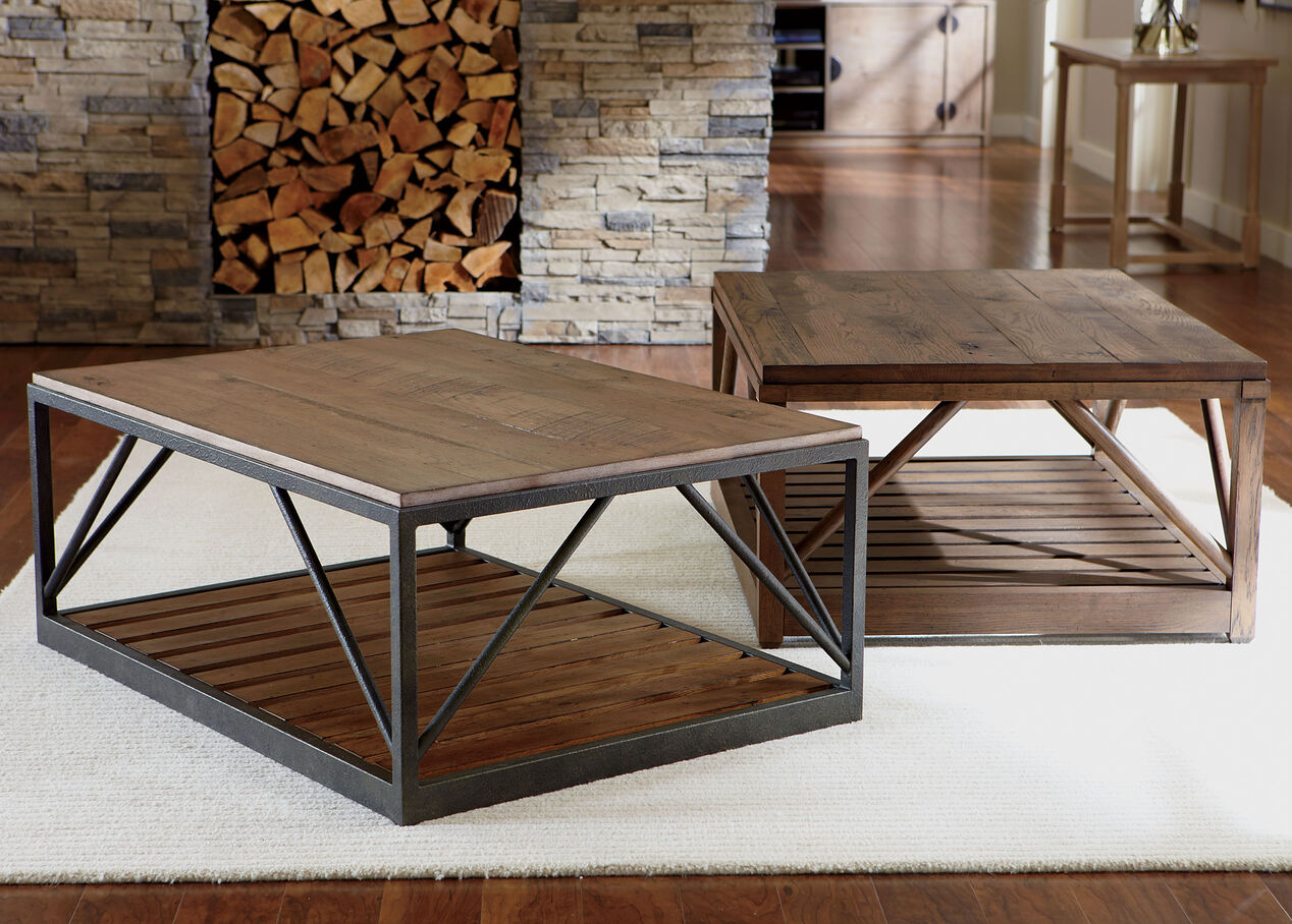 Beam metal base coffee table coffee tables ethan allen beam metal base coffee table alt geotapseo Image collections