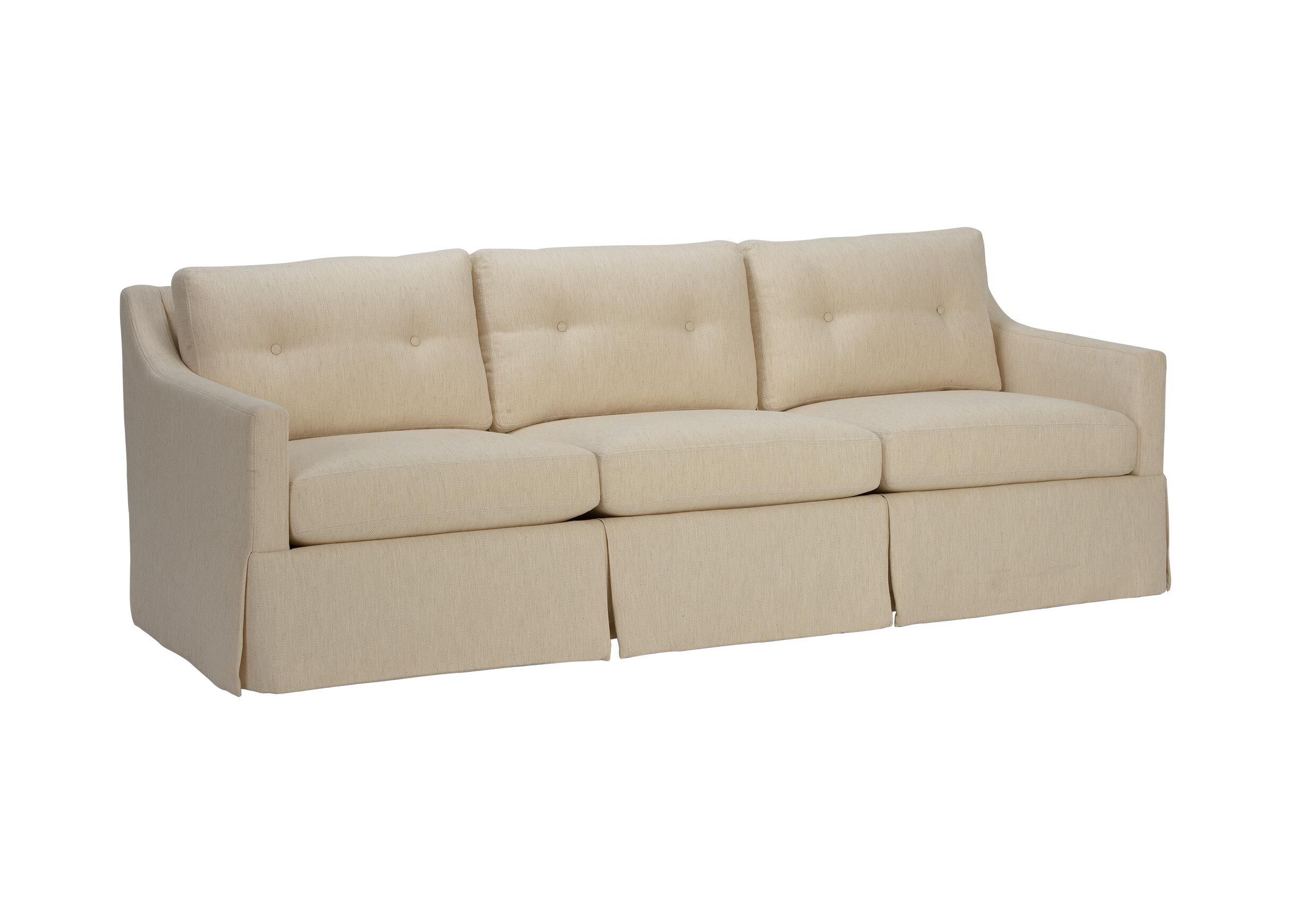 Monterey Skirted Sofa , , Alt