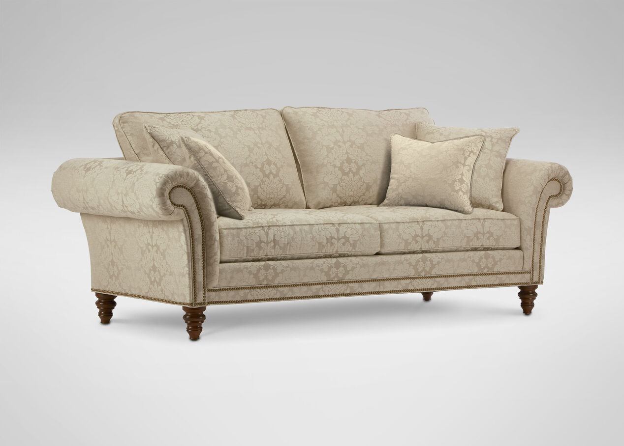 Ethan Allen Paramount Sofa Sofas Ethan Allen Leather Couch