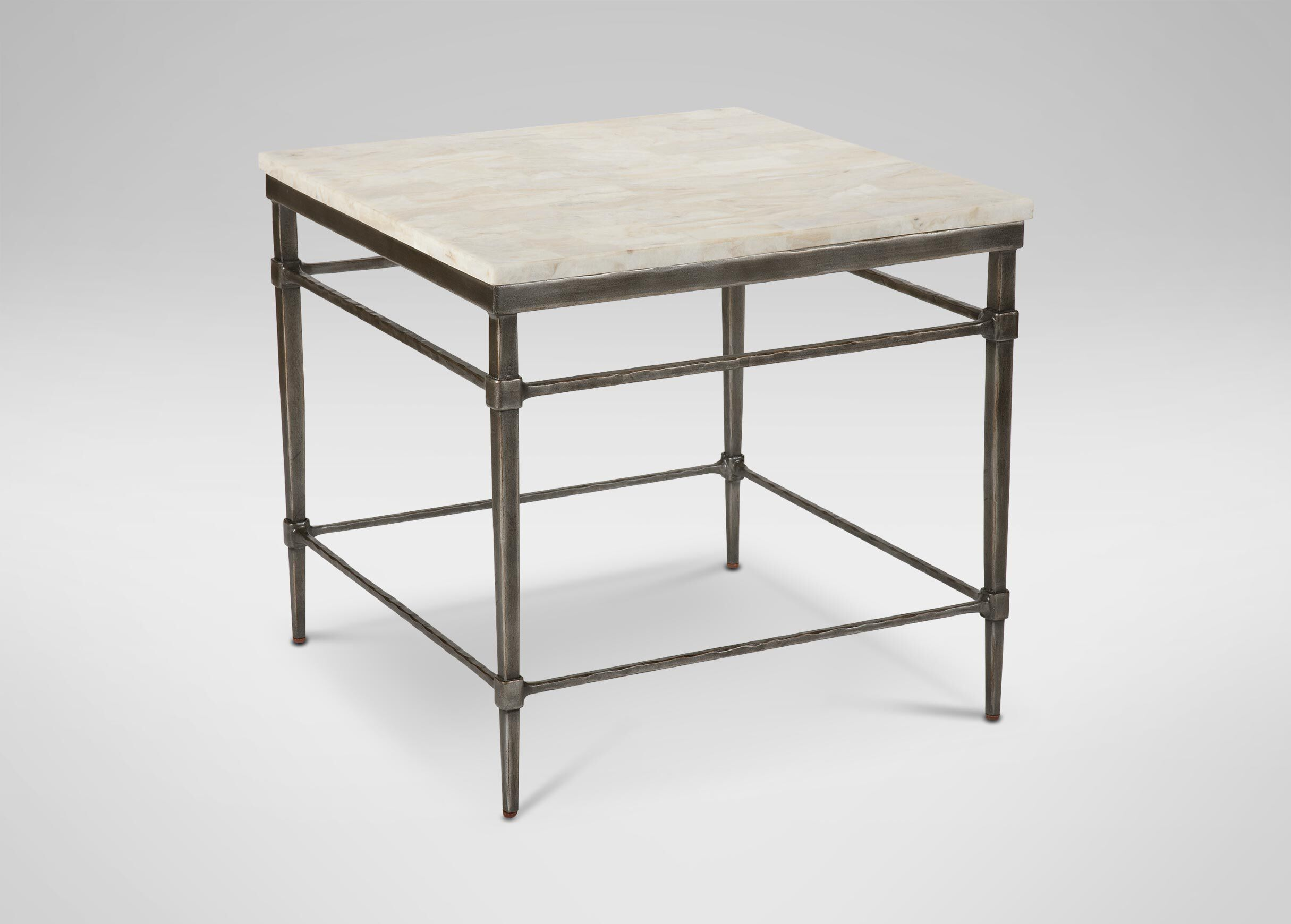 Ordinaire Vida Stone Top End Table Side Tables