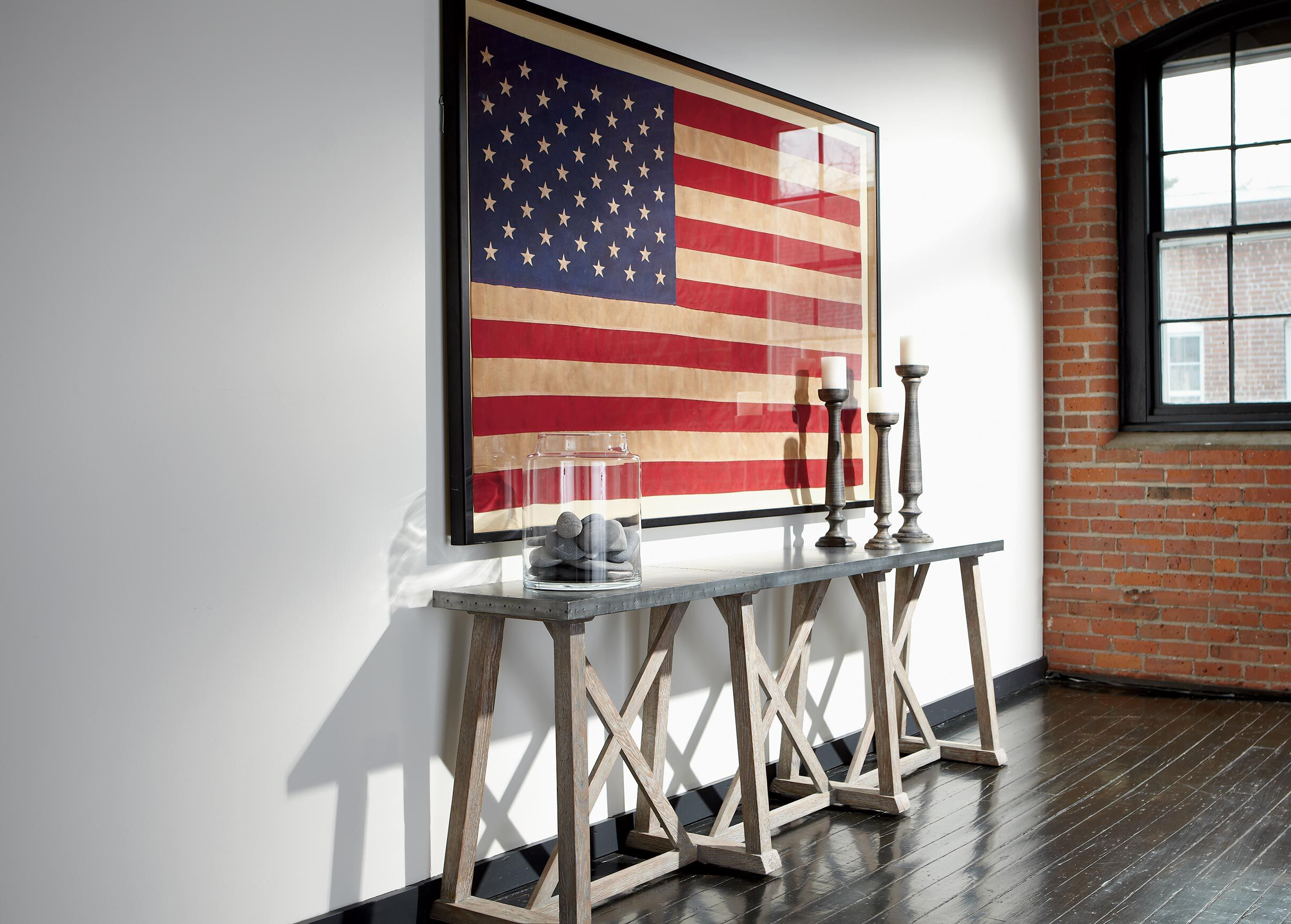 Modern Framed Us Flag Photo - Framed Art Ideas - roadofriches.com