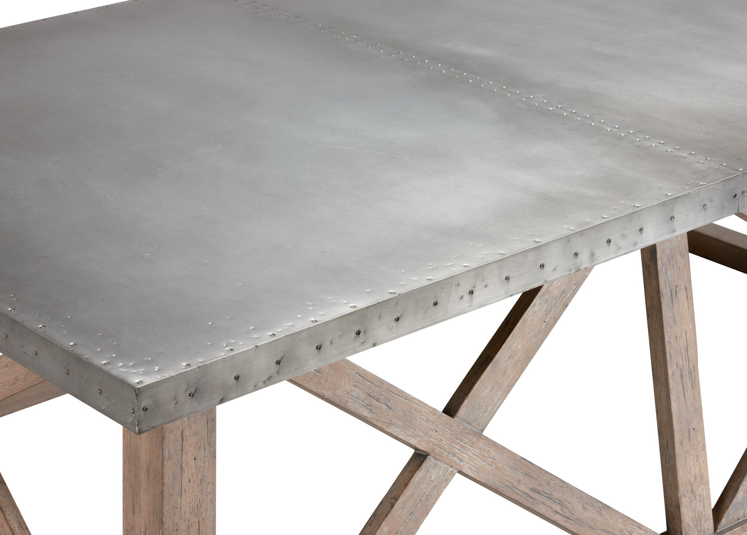 Good Bruckner Metal Top Coffee Table , , Alt