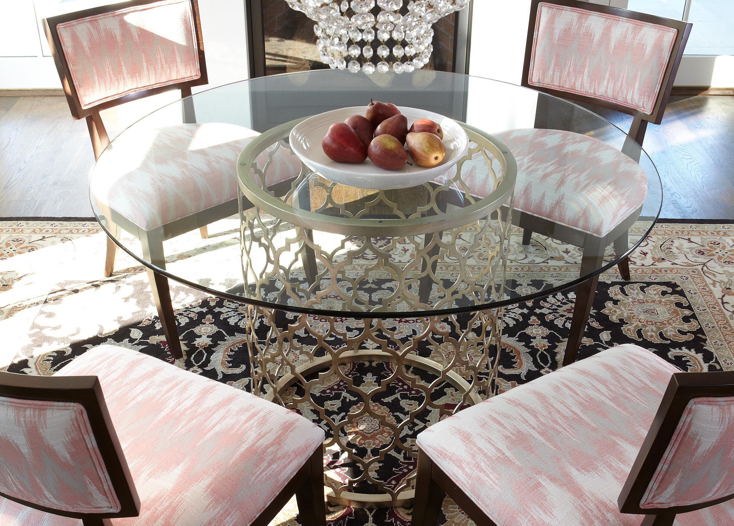 Tracery Dining Table , , Alt