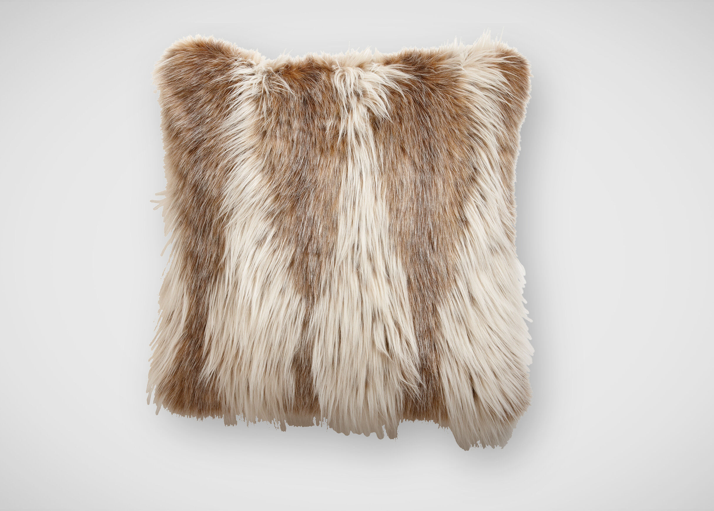 pillow neutrals room rich fur mongolian ivory pin x living