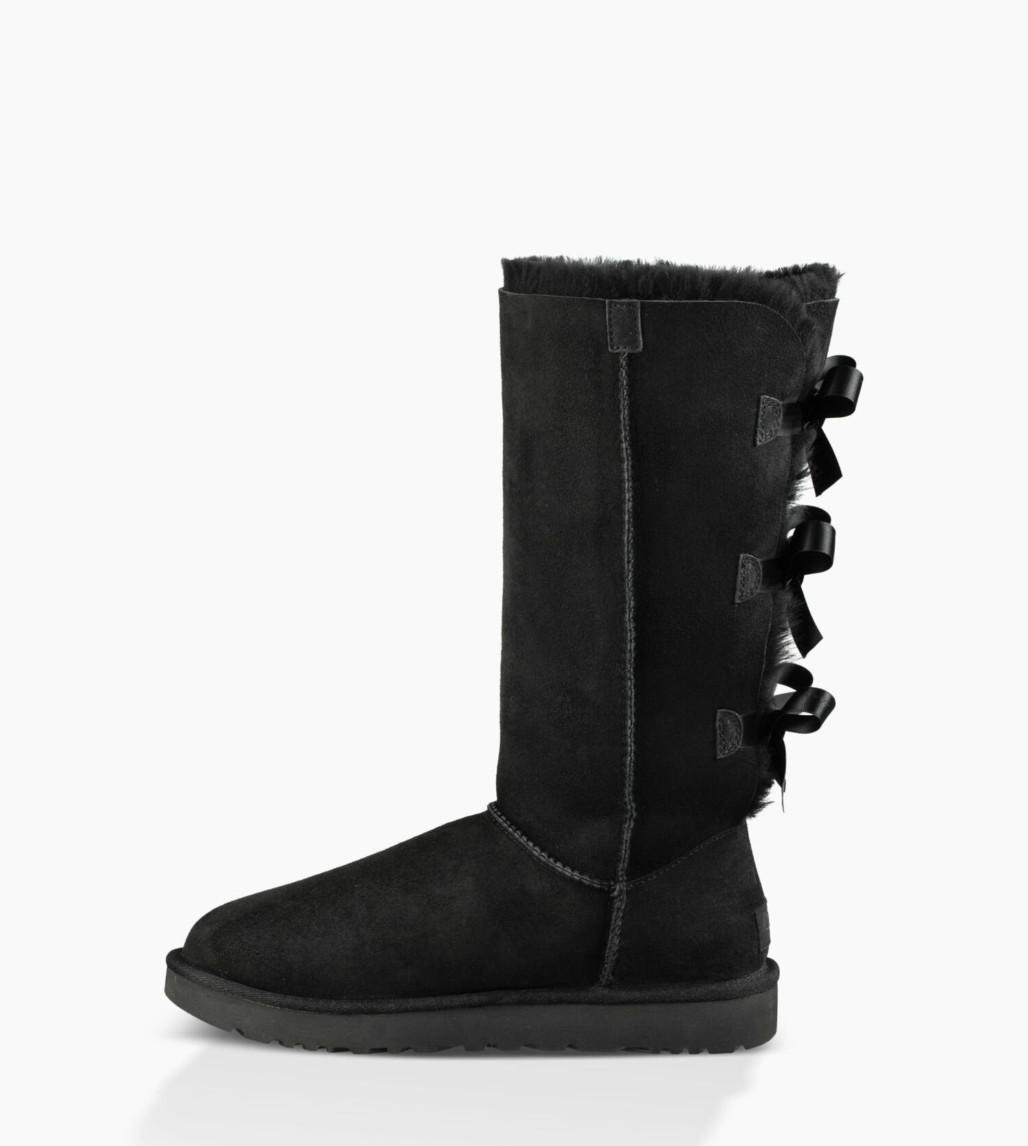 black bailey bow uggs size 10