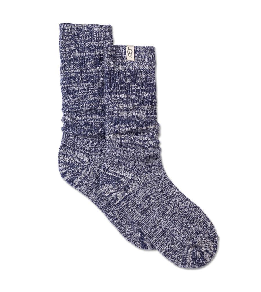 Women S Rib Knit Slouchy Crew Sock Ugg 174 Official Ugg Com