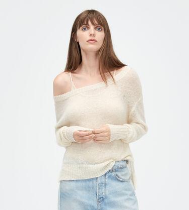 Mohair Scoop Neck Sweater