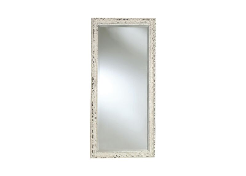 Decorative carved floor mirror mirrors for Large decorative floor mirrors