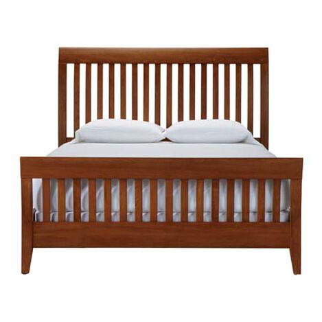 Shop beds king queen size bed frames ethan allen - Ethan allen metal bed ...