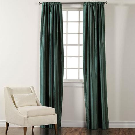 Shop Silk Drapery Silk Curtains Amp Drapes Ethan Allen