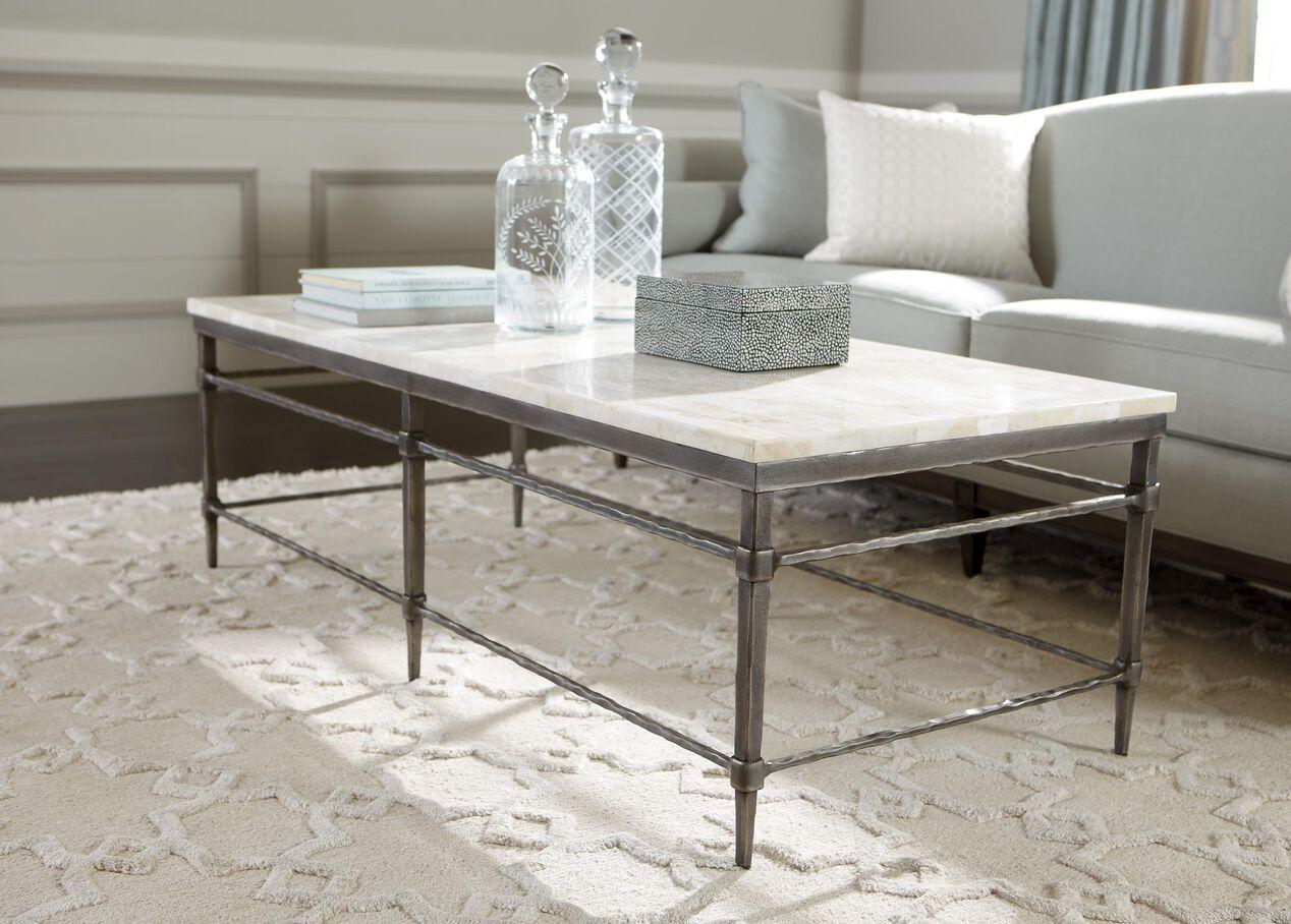 vida stone-top coffee table   coffee tables