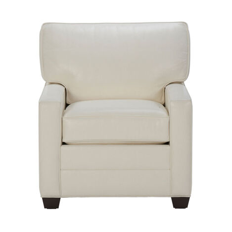 Bennett Track-Arm Leather Chair ,  , large