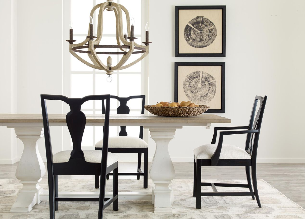 Cameron rustic dining table dining tables for V dining room table