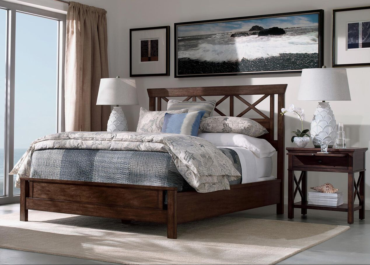 Dexter bed beds for Ethan allen furniture