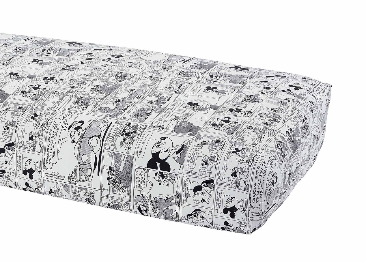 Ethan allen crib for sale - Comic Strip Crib Sheet Mickey S Ears Large
