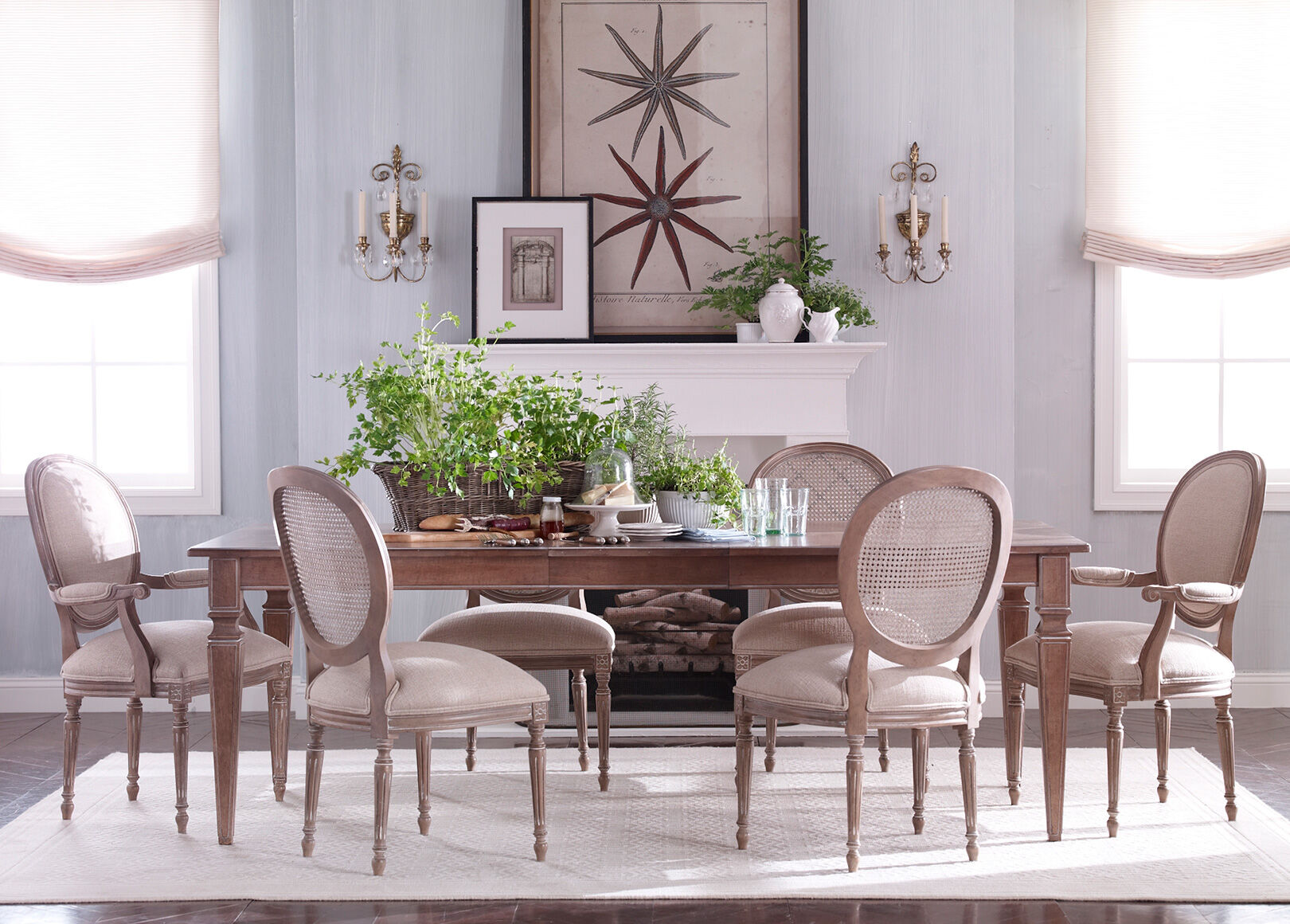 Terrific Ethan Allen Dining Room Table And Chairs Photos   3D .