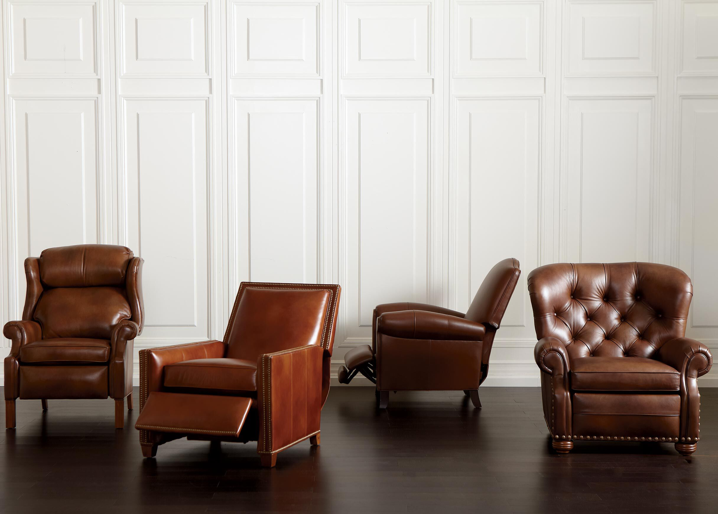 Randall Leather Recliner , , Alt