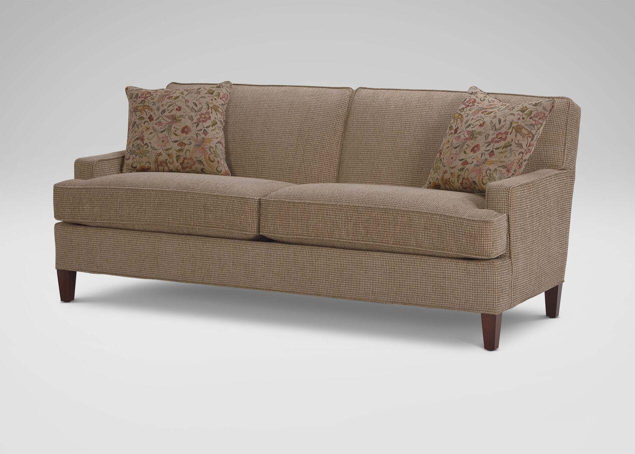 Ethan Allen Tufted Sofa Sofa Brownsvilleclaimhelp - Ethan allen chadwick sofa